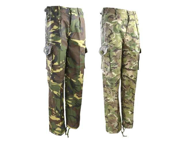 value for money color brilliancy best value Kids army trousers
